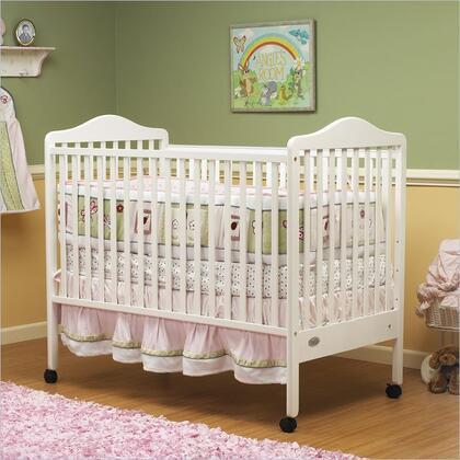 Orbelle  370W Crib White, 1