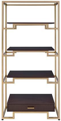 Acme Furniture Yumia 92787 Bookcase Yellow, Bookshelf