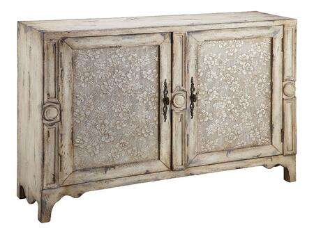 12071 Brooke Cabinet  in Aged Cream