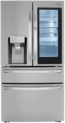 LG  LRMVS3006S French Door Refrigerator Stainless Steel, Front View