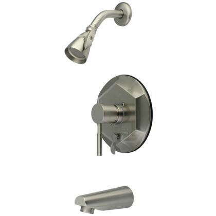 Kingston Brass Concord KB46380DL Faucet Silver, Main Image