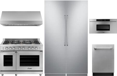 Dacor Modernist 1075404 Kitchen Appliance Package & Bundle Stainless Steel, main image
