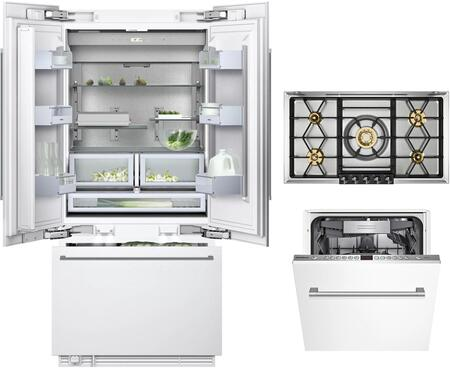 Gaggenau Deals 400 Series 1357441 Kitchen Appliance Package Panel Ready, Main image
