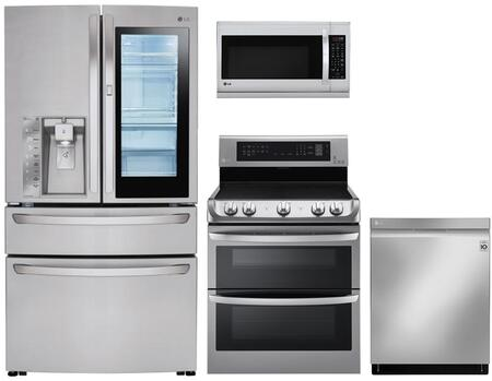 LG 1115468 Kitchen Appliance Package & Bundle Stainless Steel, main image