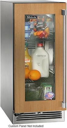Perlick Signature HP15RO34L Compact Refrigerator Panel Ready, Custom Panel and Handle