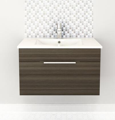 Cutler Kitchen and Bath Textures FVSB30 Sink Vanity Brown, Main Image