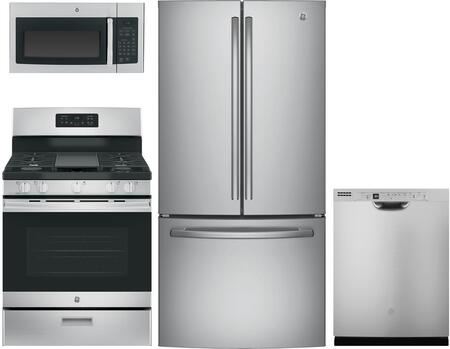 GE  1050041 Kitchen Appliance Package Stainless Steel, Main image