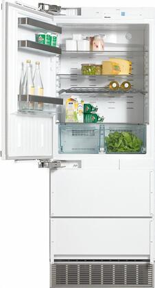 Miele  KFN9855IDELI Bottom Freezer Refrigerator Panel Ready, KFN9855IDELI PerfectCool Fridge-Freezer
