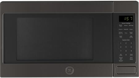 GE  JES1657BMTS Countertop Microwave Black Stainless Steel, Main Image