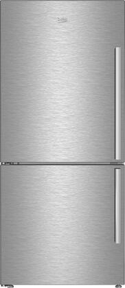 BFBF3018SSL 30″ Counter Depth Bottom Freezer Refrigerator with 16.2 cu. ft. Capacity  EverFresh+  NeoFrost Dual Cooling Technology and IonGuard