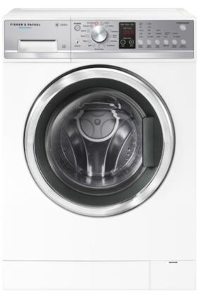Fisher Paykel  WH2424P1 Washer White, Front View