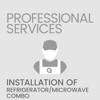 Professional Service REFMICROWCOMBOINSTALL Appliance Installation, 1