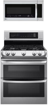 LG  1311164 Kitchen Appliance Package Stainless Steel, Main image