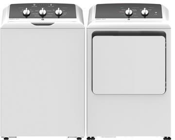 GE  1289177 Washer & Dryer Set White, 1