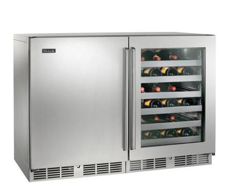 Perlick  HP48WWS1L3R Wine Cooler 76 Bottles and Above Stainless Steel, 1