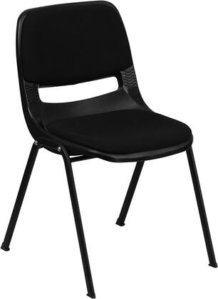 Flash Furniture Hercules RUTEO101PADGG Classroom Chair Black, 1