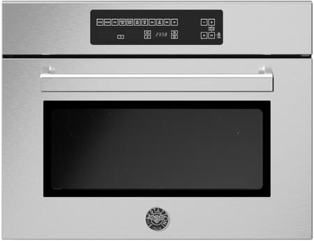 Bertazzoni Professional PROF24SOEX Single Wall Oven Stainless Steel, PROF24SOEX Speed Oven