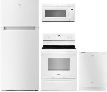 Whirlpool 1125700 Kitchen Appliance Package & Bundle White, main image
