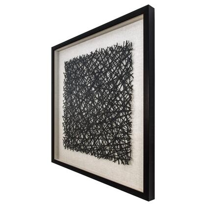 Shadowbox Collection 3230062 Thread Lightly 31.4″ x 31.4″ Hand Made Wall Art in Multi