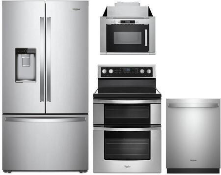 Whirlpool 1127462 Kitchen Appliance Package & Bundle Stainless Steel, Main image