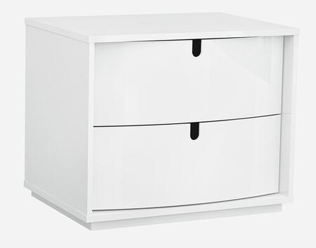 American Eagle Furniture P110 NSP110 Nightstand White, Main Image