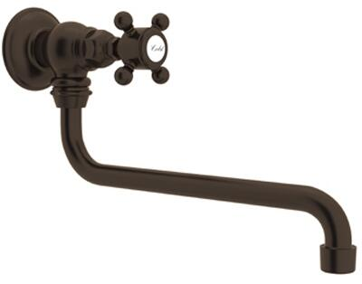 Rohl Italian Country Kitchen A1445XMTCB2 Faucet Brown, Tuscan Brass