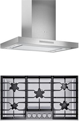 Thermador  1071301 Kitchen Appliance Package Stainless Steel, main image