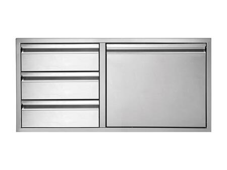 Twin Eagles TEDD423B Storage Drawer Stainless Steels, Main Image