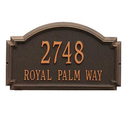 Whitehall Products 1295OB Address Plaques, Main Image