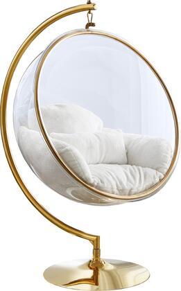 Meridian Luna 508FUR Accent Chair White, 508Fur 1