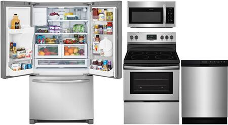 Frigidaire 850134 Kitchen Appliance Package & Bundle Stainless Steel, main image