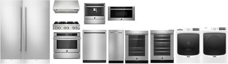 Appliances Connection Picks  1446472 Kitchen Appliance Package White, main image