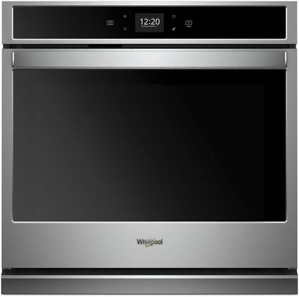 Whirlpool WOS51EC0HS Single Wall Oven Stainless Steel, Main Image