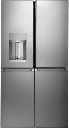 Cafe  CQE28DM5NS5 French Door Refrigerator Stainless Steel, Front View