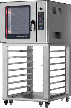 Radiance  RBCON1 Commercial Convection Oven Stainless Steel, RBCON1 Angled View