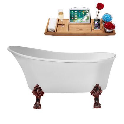 Streamline  N349ORBINBNK Bath Tub White, N349ORB IN BNK 1