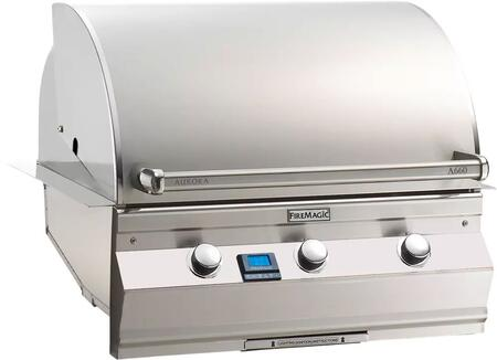 Fire Magic Aurora A660I5L1P Liquid Propane Grill Stainless Steel, Main Image Digital Thermometer