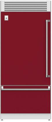 Hestan  KRPL36BG Bottom Freezer Refrigerator Red, Main Image