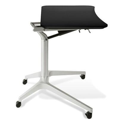 Unique Furniture 200 Series 201BLK Office Desk Black, 1