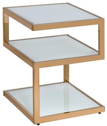 Acme Furniture Alyea 81847 End Table White, 1