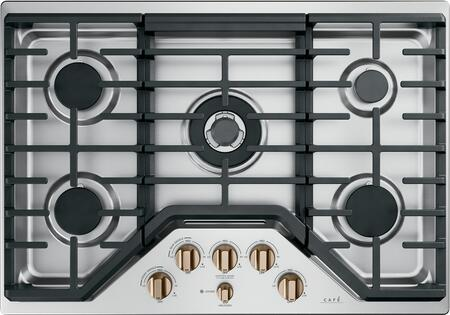 Shop Cafe Matte Collection Series 30 Inch Natural Gas Cooktop from Appliances Connection on Openhaus