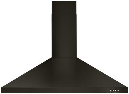 Whirlpool  WVW53UC6HV Wall Mount Range Hood Black Stainless Steel, Main Image