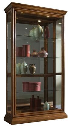 Pulaski 20544 Curio Cabinet Oak, Main Image