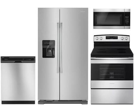 Amana  959148 Kitchen Appliance Package Stainless Steel, main image