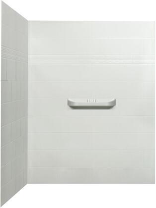 SW-60-SH-2 Laila Acrylic Corner Shower Wall  in