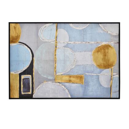 Plutus Brands  PBTH93565 Wall Art Blue, PBTH93565