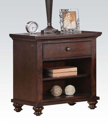 Acme Furniture Aceline 213834 Nightstand Brown, 1