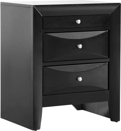 Glory Furniture Marilla G1500N Nightstand Black, G1500N Main Image