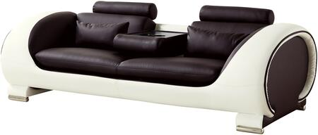 American Eagle Furniture AE-D802 AED802DCCRMSF Stationary Sofa Brown, Main Image