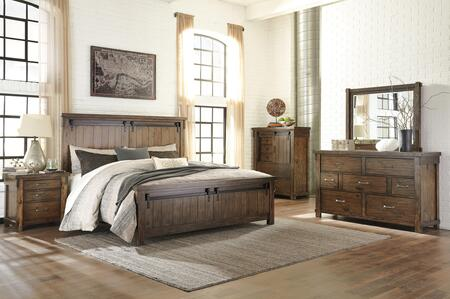 Signature Design by Ashley Lakeleigh B718CKPBDM2NC Bedroom Set Brown, Main Image